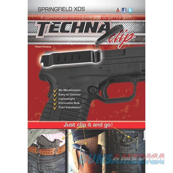 Techna Clip XDSBA Gun Belt Clip – Springfield XDs, Ambidextrous   Non-Guns > Holsters and Gunleather > Concealed Carry