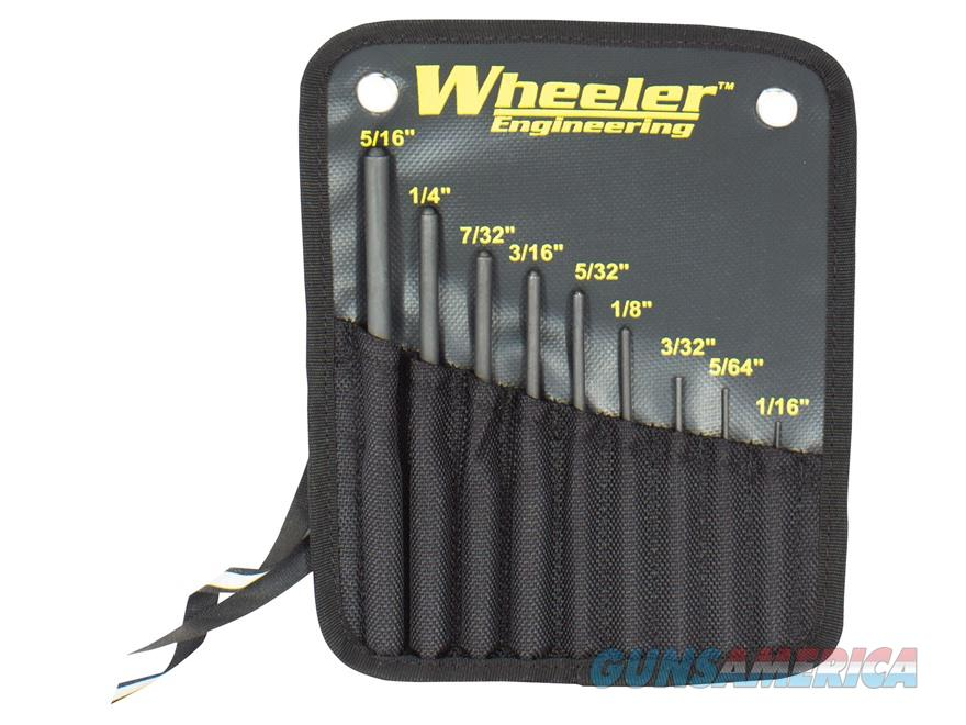 Wheeler Engineering 9-Piece Roll Pin Punch Set  Non-Guns > Gunsmith Tools/Supplies