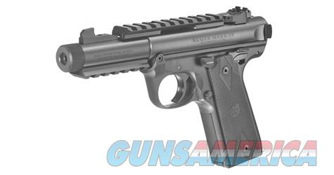 "Ruger Mark IV 22.45 Tactical 4.4"" 10+1 - New in Box  Guns > Pistols > Ruger Semi-Auto Pistols > Mark I/II/III/IV Family"