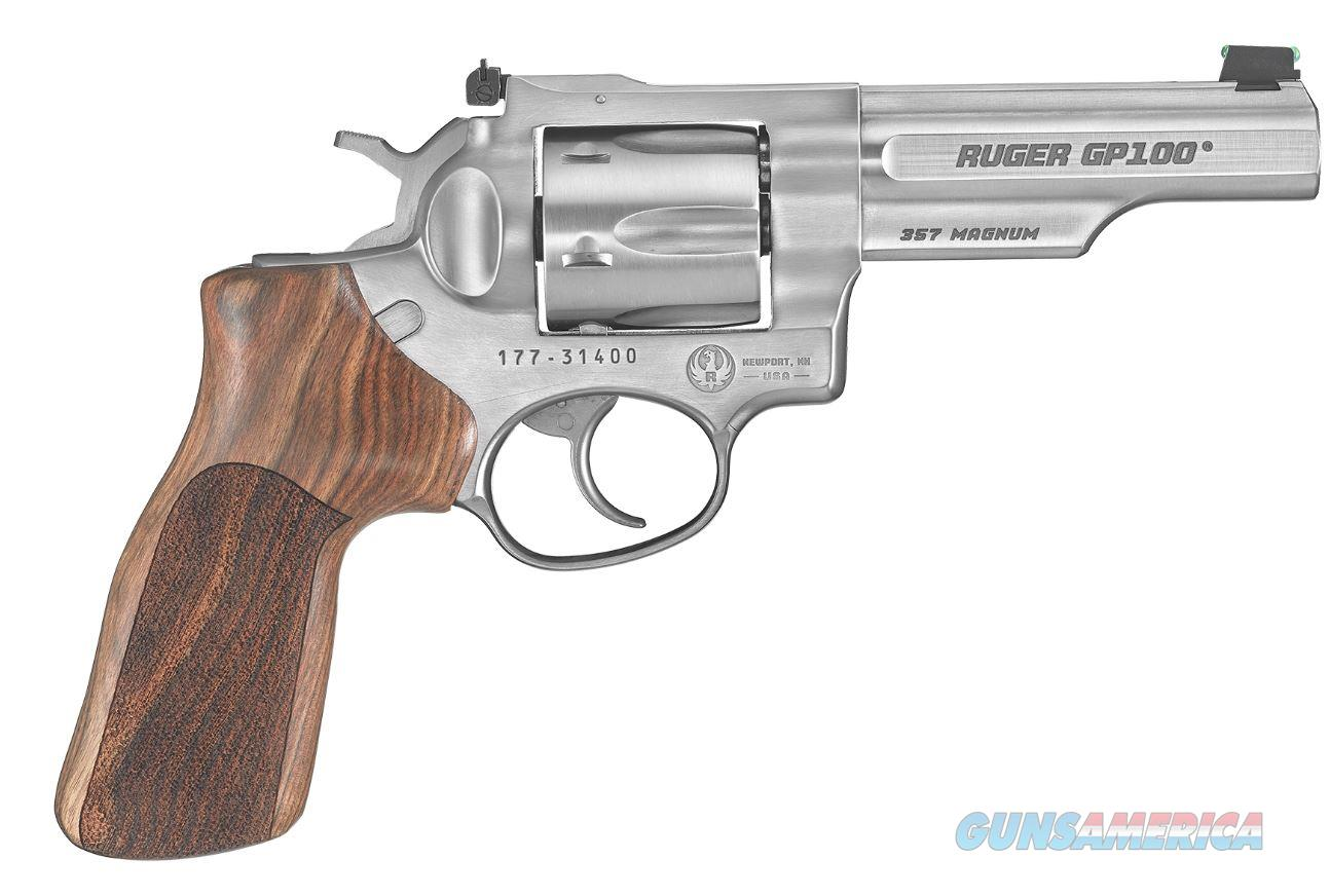 "Ruger GP100 Match Champion 357 Magnum 4.2"" 6 Shot - Adjustable Rear Sight  Guns > Pistols > Ruger Double Action Revolver > GP100"