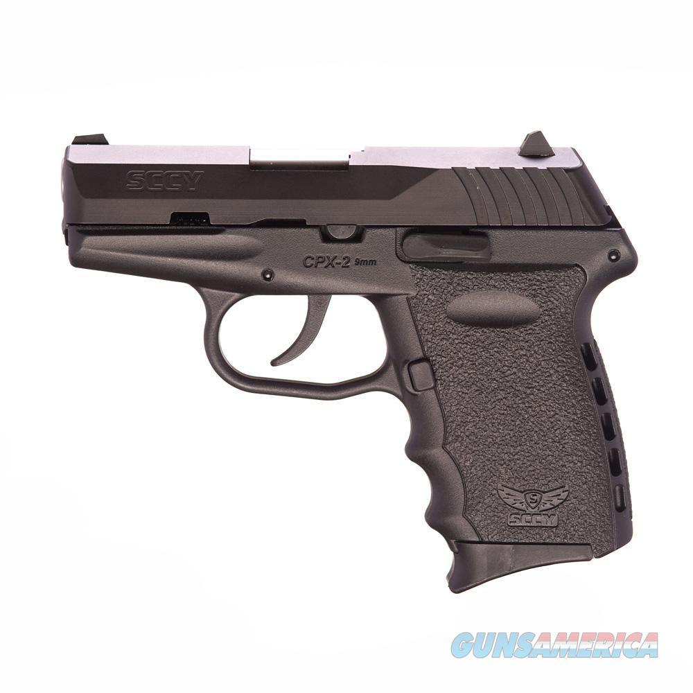 SCCY CPX-2 9mm Auto Pistol – Black/Black  Guns > Pistols > A Misc Pistols