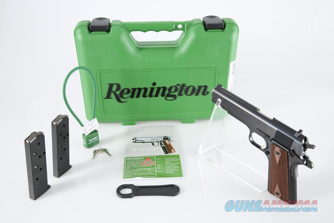 "Remington 1911 R1 .45 ACP 5"" 7+1 - New in Case  Guns > Pistols > Remington Pistols - Modern > 1911"