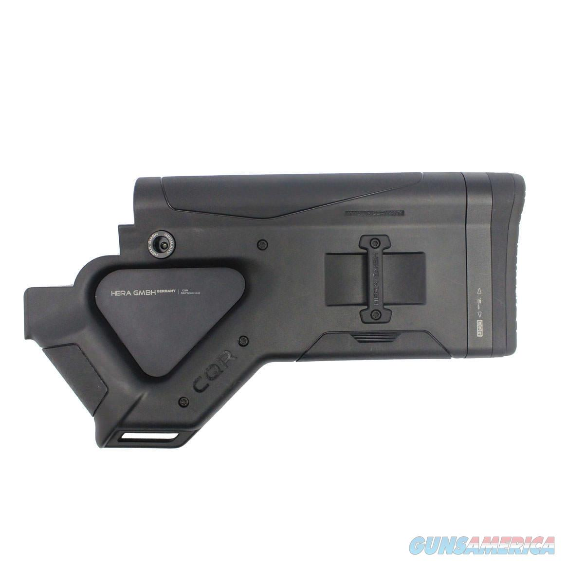 Hera USA CQR Buttstock, Black – CA Version (Removable Thumb Plate)  Non-Guns > Gun Parts > M16-AR15 > Upper Only