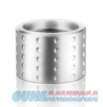 """Backup Tactical Custom CNC Machined 1/2""""x28 Thread Protectors – Spots - Silver  Non-Guns > Gun Parts > Misc > Pistols"""
