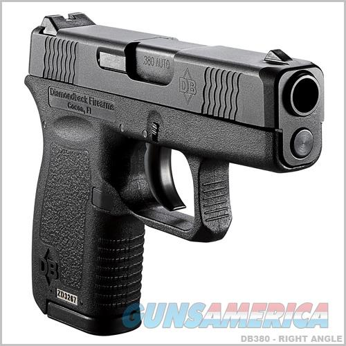 Diamondback DB380 380 ACP Pistol - New in Box  Guns > Pistols > Diamondback Pistols