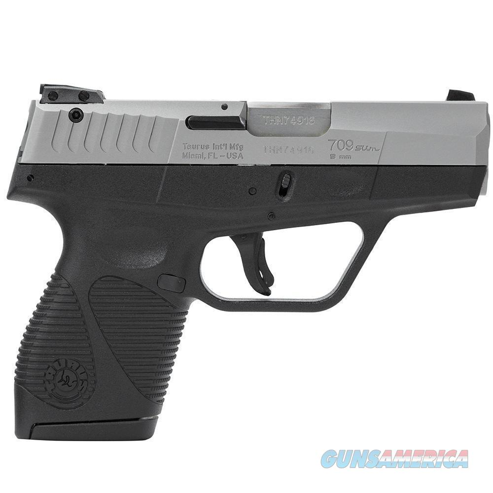 "Taurus 709 ""Slim"" Sub-Compact 9MM Pistol - New in Box  Guns > Pistols > Taurus Pistols > Semi Auto Pistols > Polymer Frame"