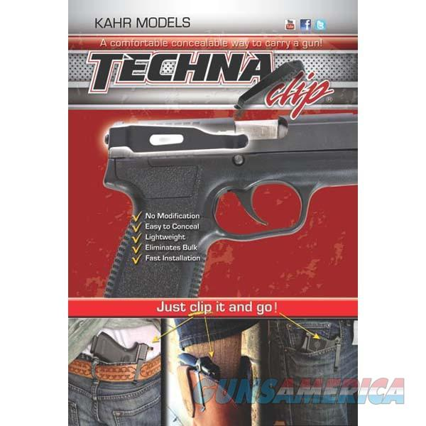 Techna Clip, Belt Clip, Fits Kahr Pistols, Right Hand, Black Finish  Non-Guns > Holsters and Gunleather > Concealed Carry