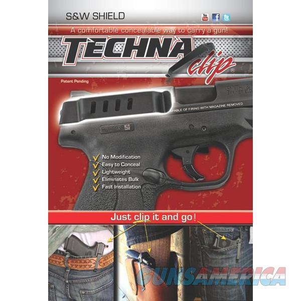 Techna SHBR Clip Gun Belt Clip – Smith & Wesson Shield 9/.40 - Right Side  Non-Guns > Holsters and Gunleather > Concealed Carry