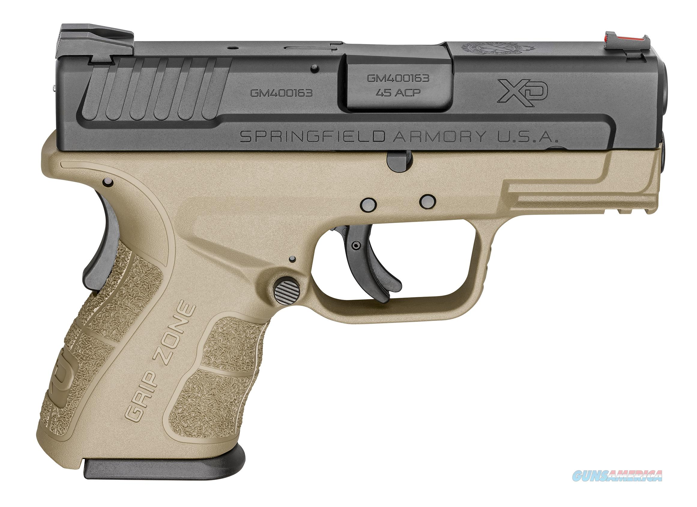 "Springfield XD Mod.2 Double .45 ACP 3.3"" 13+1, FDE - New in Case  Guns > Pistols > Springfield Armory Pistols > XD (eXtreme Duty)"