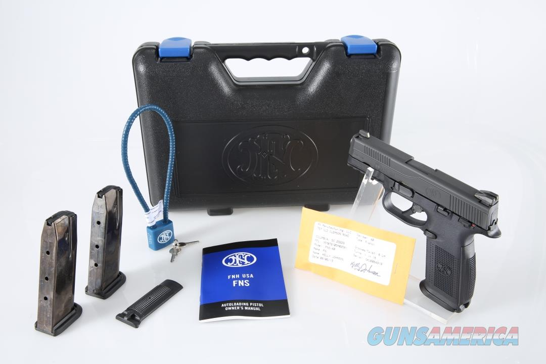 "FNH USA FNS40 .40 S&W 4"" 14+1 - New in Box  Guns > Pistols > FNH - Fabrique Nationale (FN) Pistols > FNS"