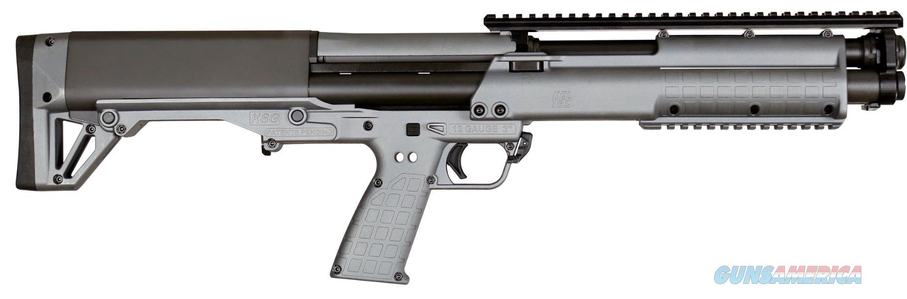 Kel-Tec KSG 12 Gauge Tactical Shotgun - Synthetic Gray - New in Box  Guns > Shotguns > Kel-Tec Shotguns > KSG
