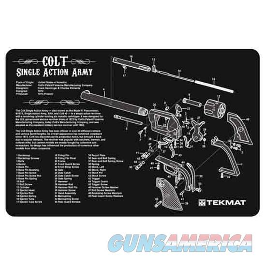TEKMAT Armorers Bench Mat – Colt Single Action Army® Revolver  Non-Guns > Gunsmith Tools/Supplies