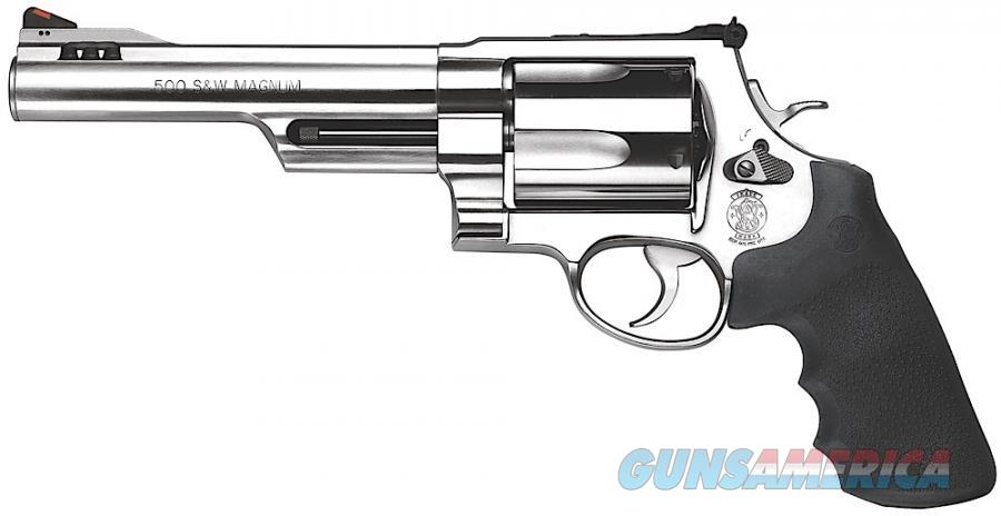 "Smith & Wesson 500 Standard Stainless 500 Smith & Wesson 6.5"" 5 Shot  Guns > Pistols > Smith & Wesson Revolvers > Full Frame Revolver"