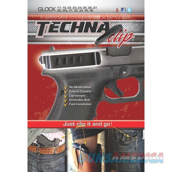 Techna Clip Gun Belt Clip – Glock Models (except G42 and G43) - Ambidextrous  Non-Guns > Holsters and Gunleather > Concealed Carry