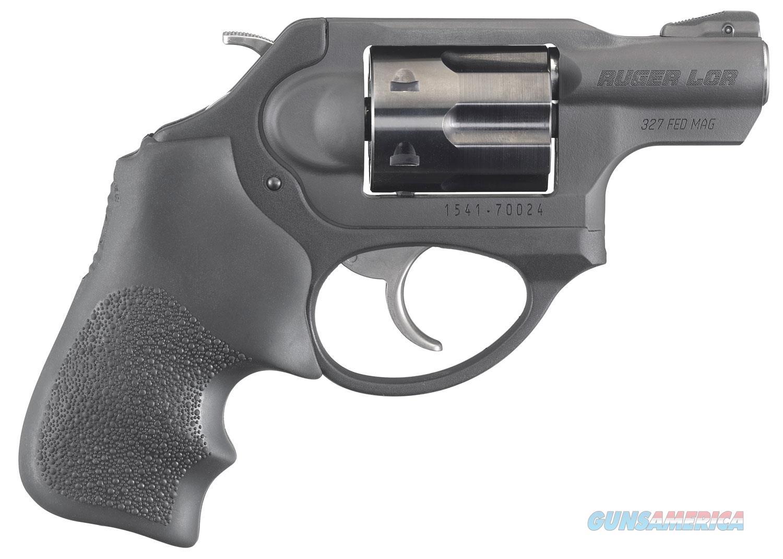 "Ruger LCRx .327 Federal Magnum 1.87"" 5 rd Hogue Tamer Grip  Guns > Pistols > Ruger Double Action Revolver > LCR"
