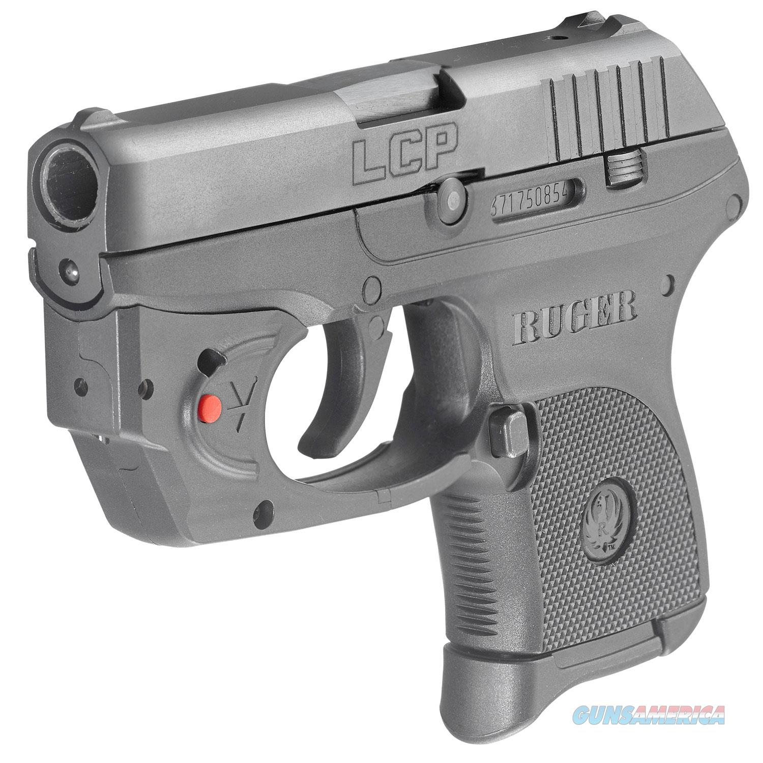 "Ruger LCP with Viridian Laser .380 ACP 2.75"" 6+1 - New in Box!  Guns > Pistols > Ruger Semi-Auto Pistols > LCP"