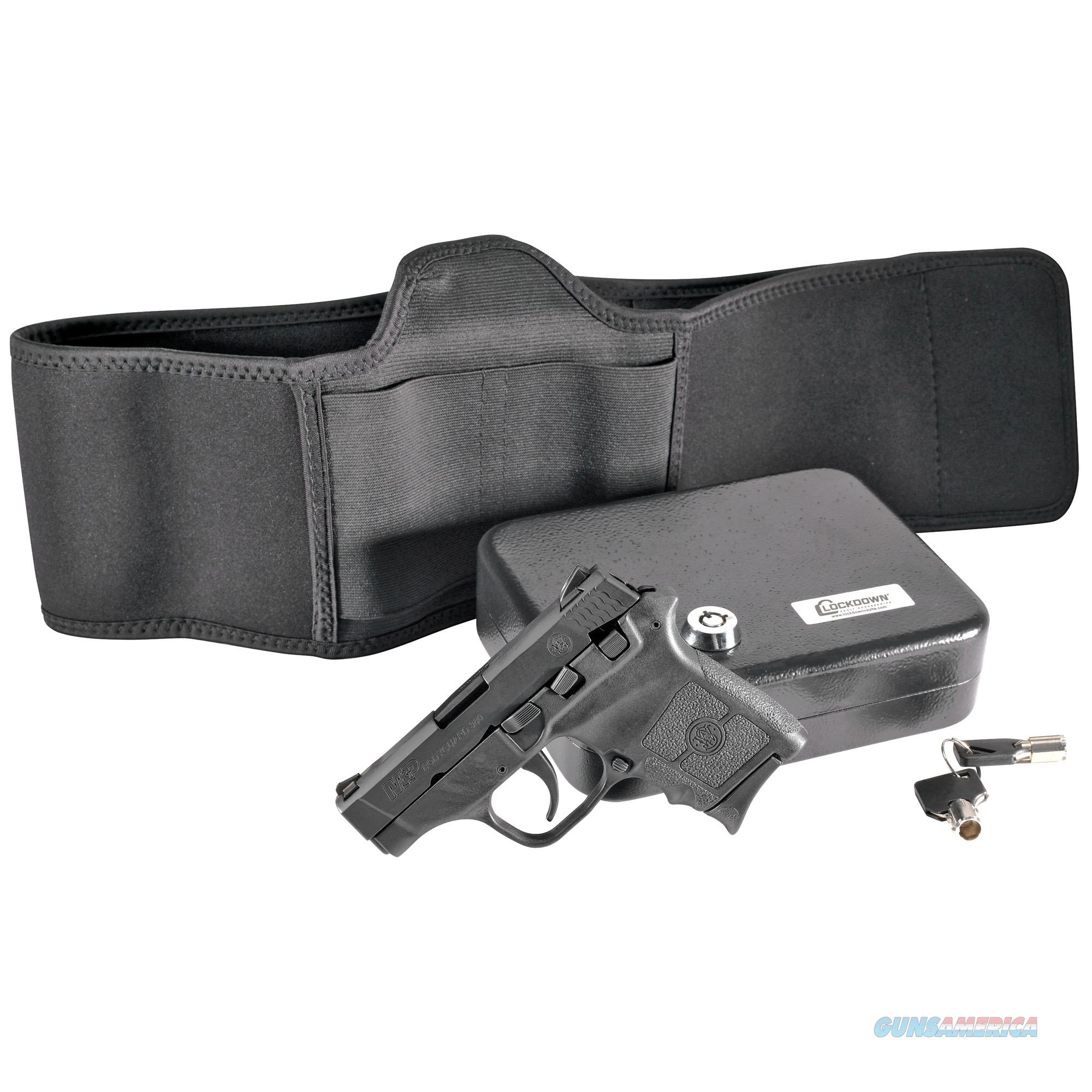 "Smith & Wesson 13117 M&P Bodyguard Defense Kit 380 ACP 2.75"" 6+1 Black Matte Black Polymer Grip  Guns > Pistols > Smith & Wesson Pistols - Autos > Polymer Frame"