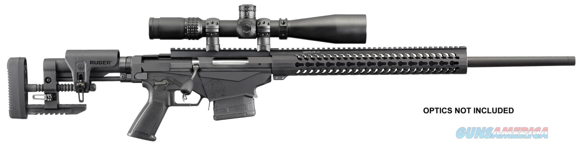 """Ruger Precision Rifle .308 20"""" 10+1 Folding Adjustable Stock - New in Box  Guns > Rifles > Ruger Rifles > Precision Rifle Series"""
