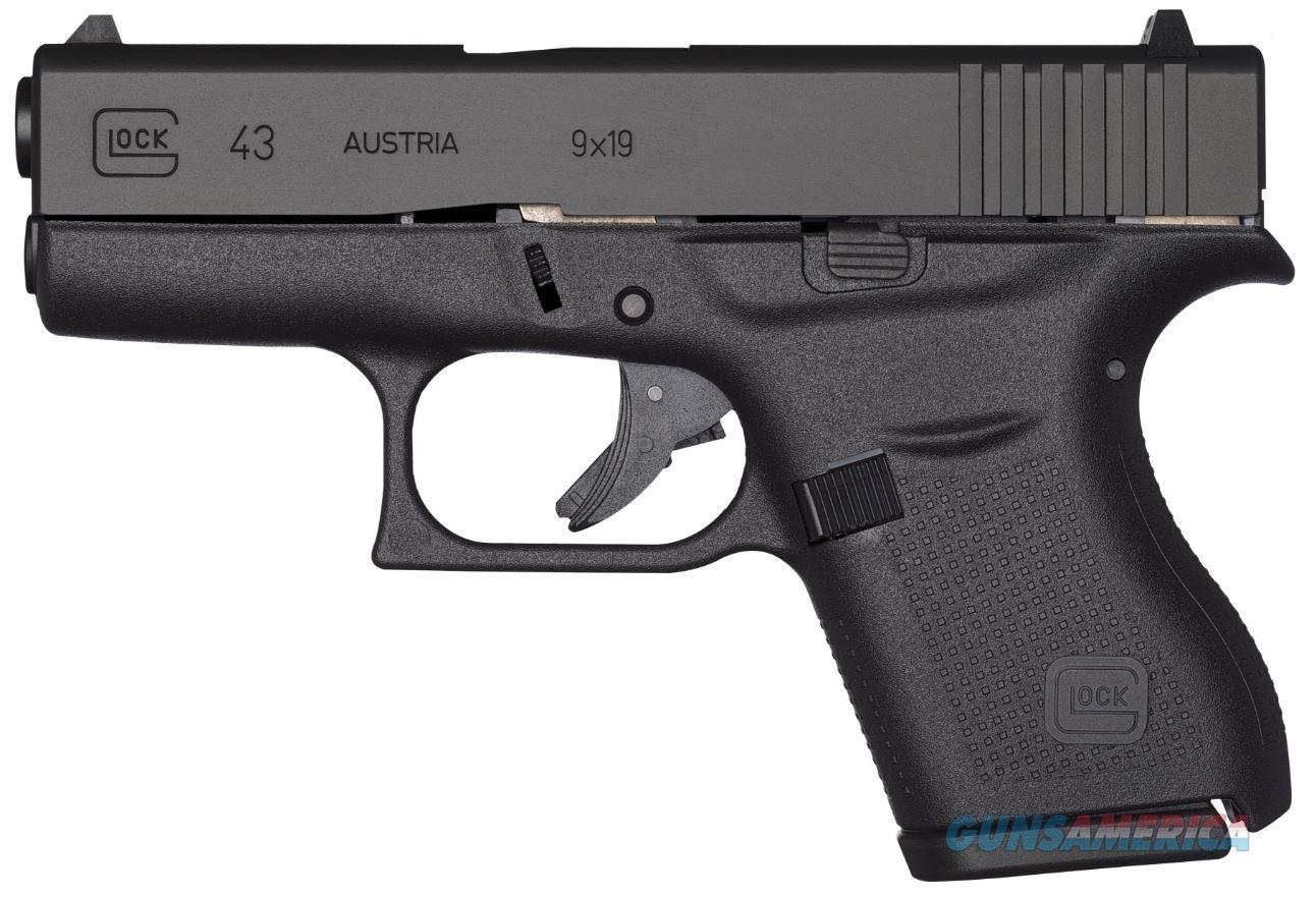 "Glock G43 9mm 3.39"" 6+1 - New in Box  Guns > Pistols > Glock Pistols > 43"