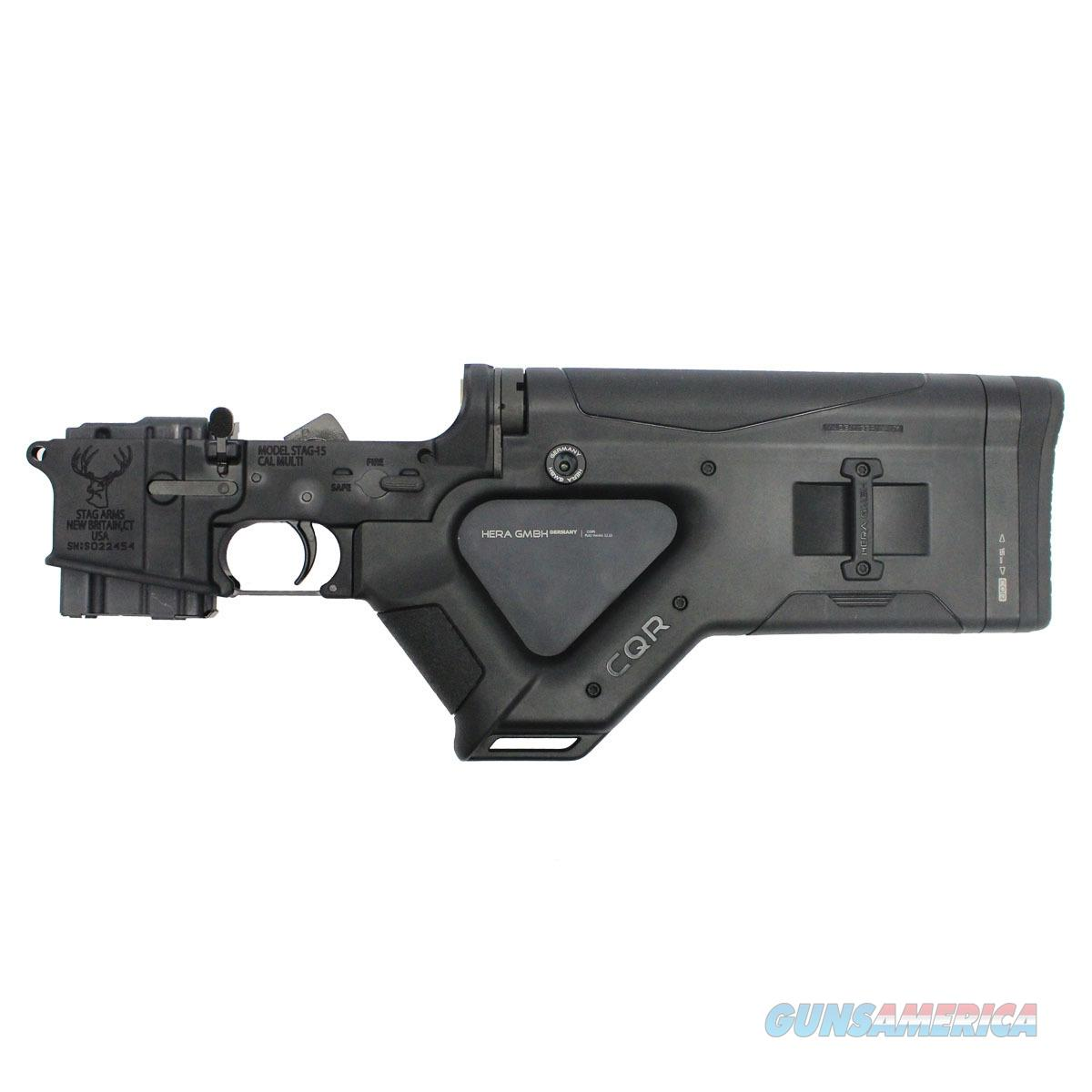 Stag Arms Complete Lower with Hera CQR Buttstock  Guns > Rifles > AR-15 Rifles - Small Manufacturers > Lower Only