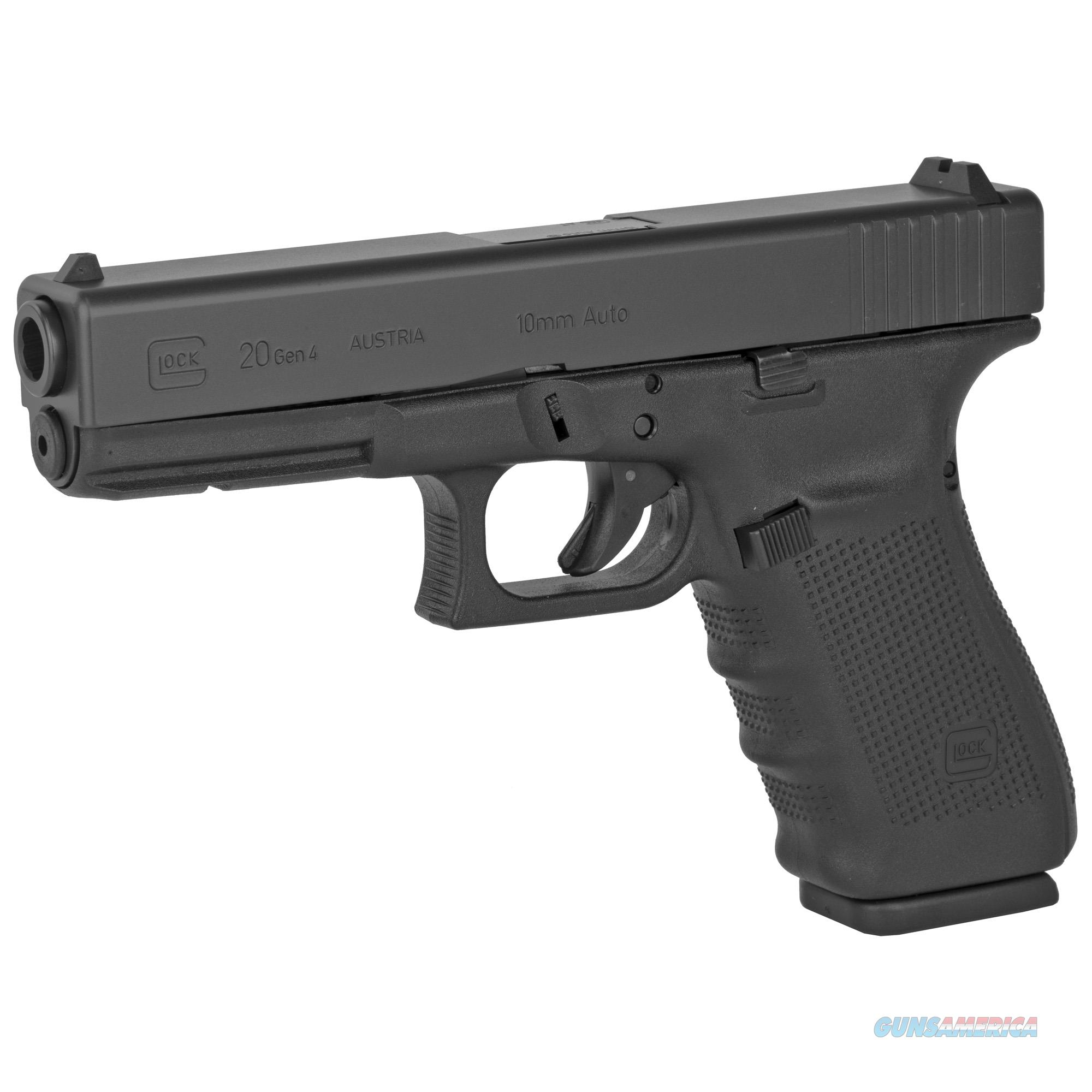 "Glock G20 Gen4 10mm 4.6"" 15+1 - New in Case  Guns > Pistols > Glock Pistols > 20/21"