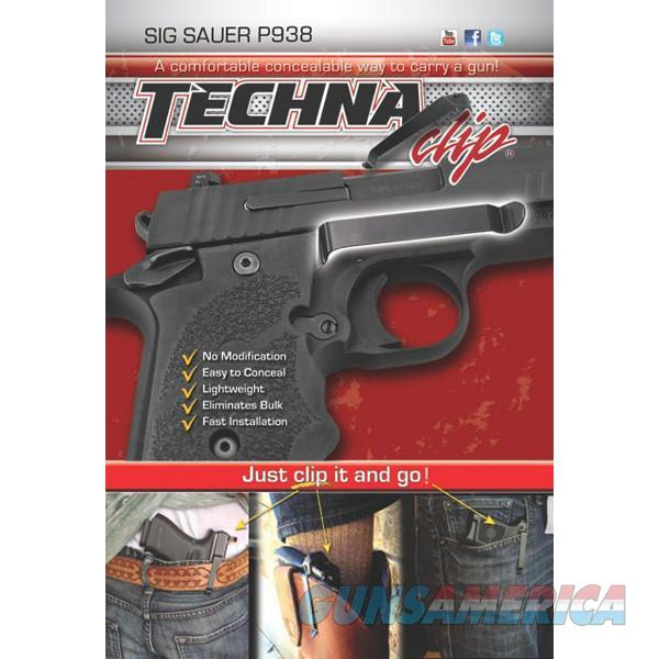 Techna Clip P938-BR Gun Belt Clip – Sig Sauer P938, Right Side  Non-Guns > Holsters and Gunleather > Concealed Carry