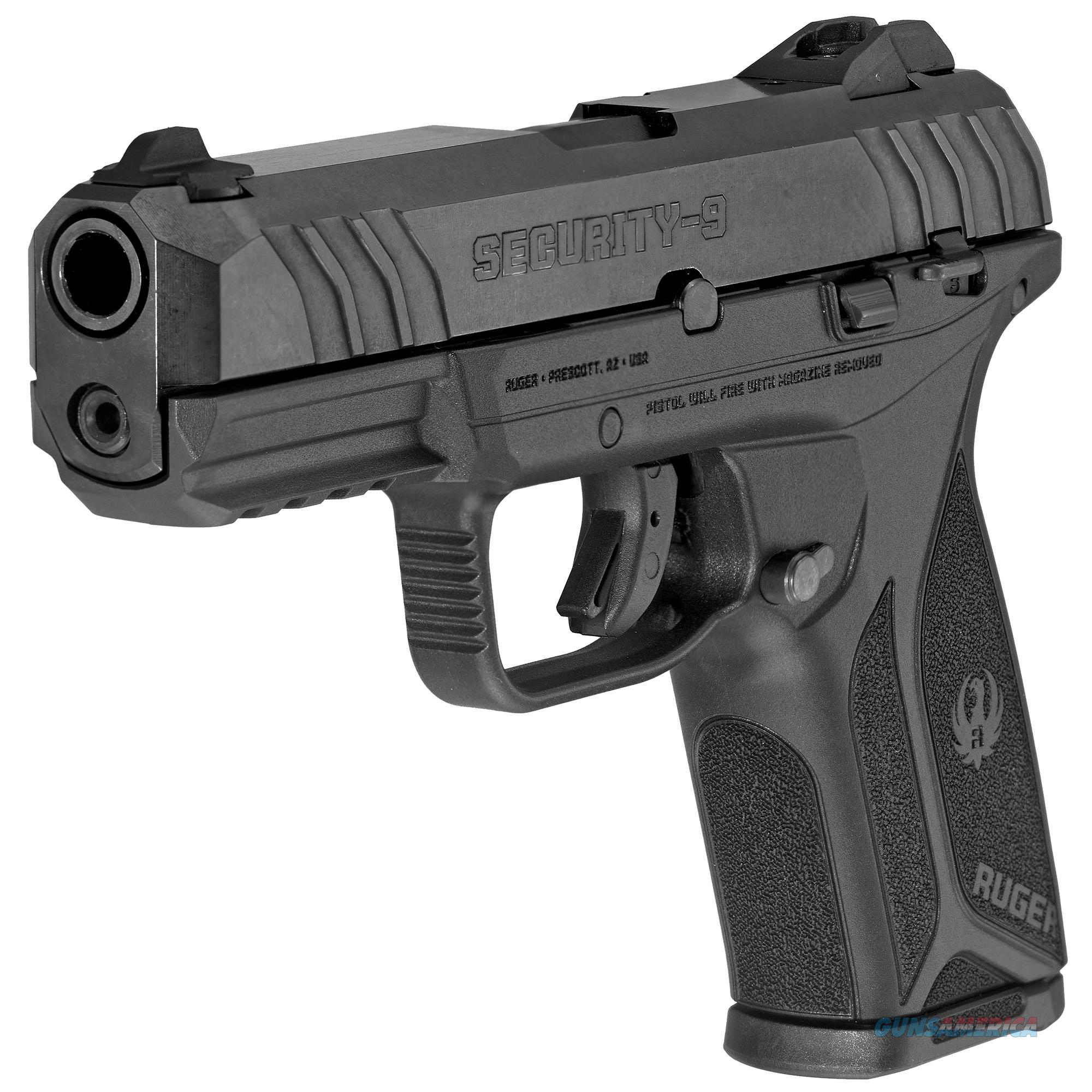"Ruger Security 9 9mm 4"" 15+1 Black Polymer Grip - New in Box!  Guns > Pistols > Ruger Semi-Auto Pistols > Security 9"