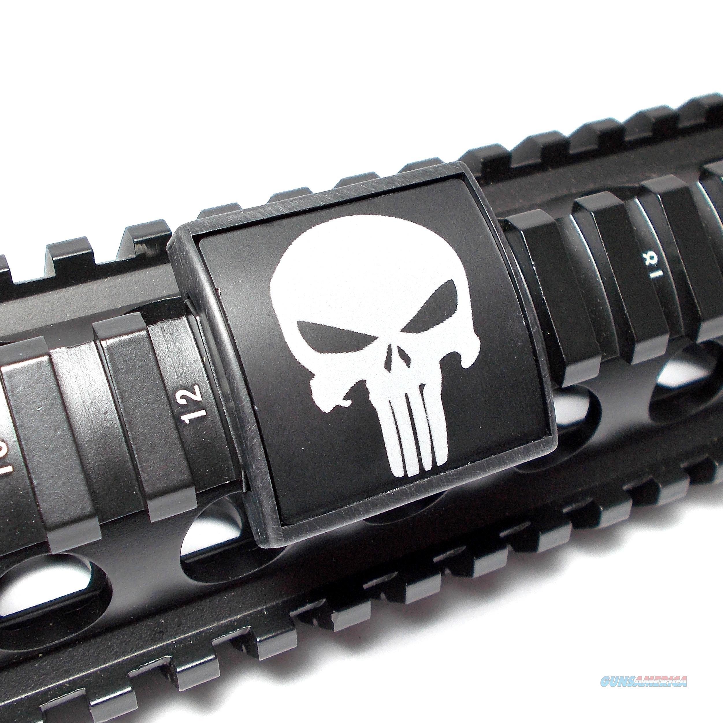 AR15/M4 Custom Picatinny Rail Cover – Punisher  Non-Guns > Gun Parts > M16-AR15 > Upper Only