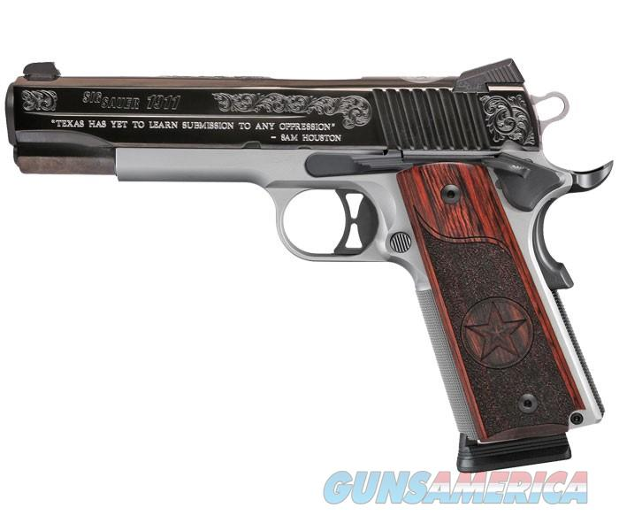 Sig Sauer 1911 Texas Edition – Full Size - New in Box  Guns > Pistols > Sig - Sauer/Sigarms Pistols > 1911