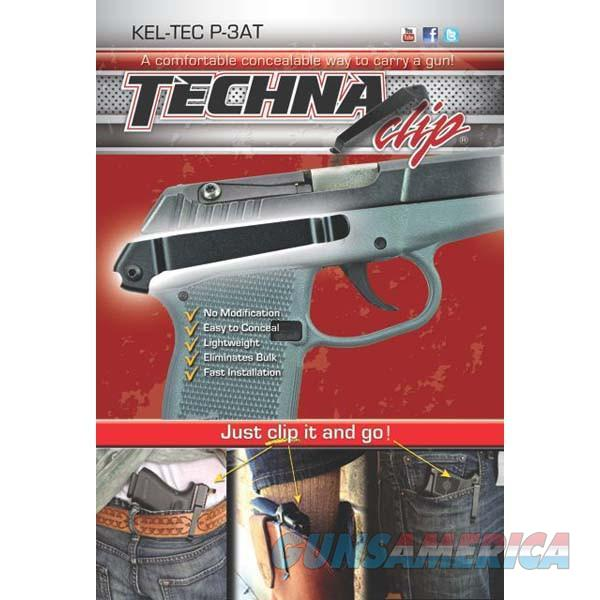 Techna Clip P3BR Gun Belt Clip – Kel-Tec P-3AT, Right Side  Non-Guns > Holsters and Gunleather > Concealed Carry