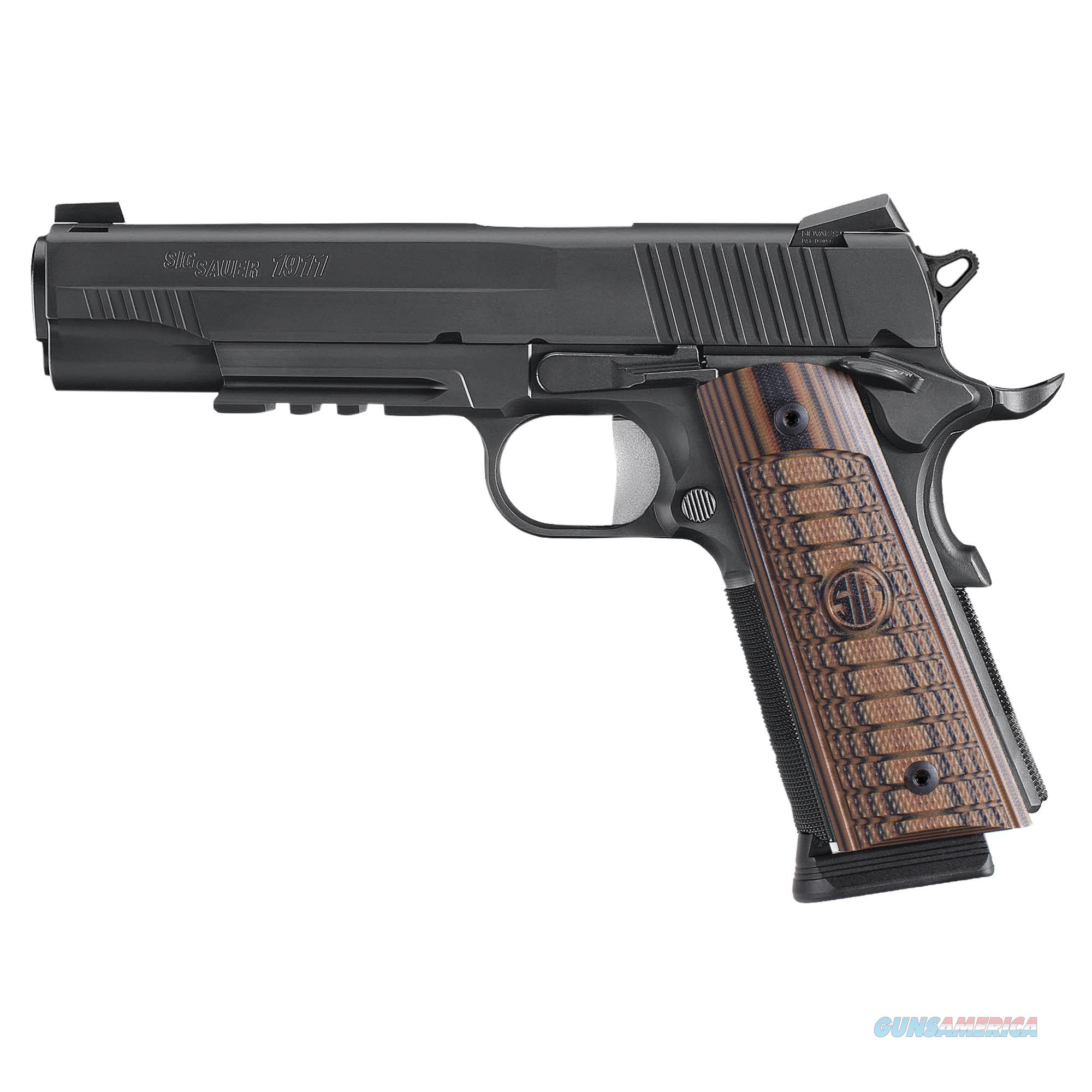 "Sig Sauer 1911 Select .45 ACP 5"" 8+1, Siglite Night Sights - New in Case  Guns > Pistols > Sig - Sauer/Sigarms Pistols > 1911"