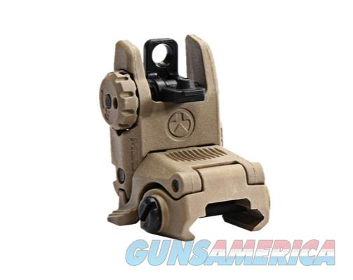 MBUS – Magpul Back-Up Sight – Rear, FDE  Non-Guns > Gun Parts > M16-AR15 > Upper Only