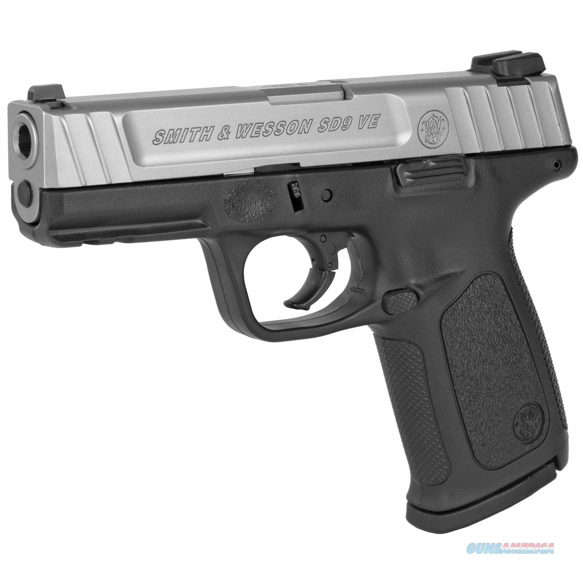 "Smith & Wesson SD9 VE Sigma 9 mm 4"" 16+1 - New in Box  Guns > Pistols > Smith & Wesson Pistols - Autos > Polymer Frame"