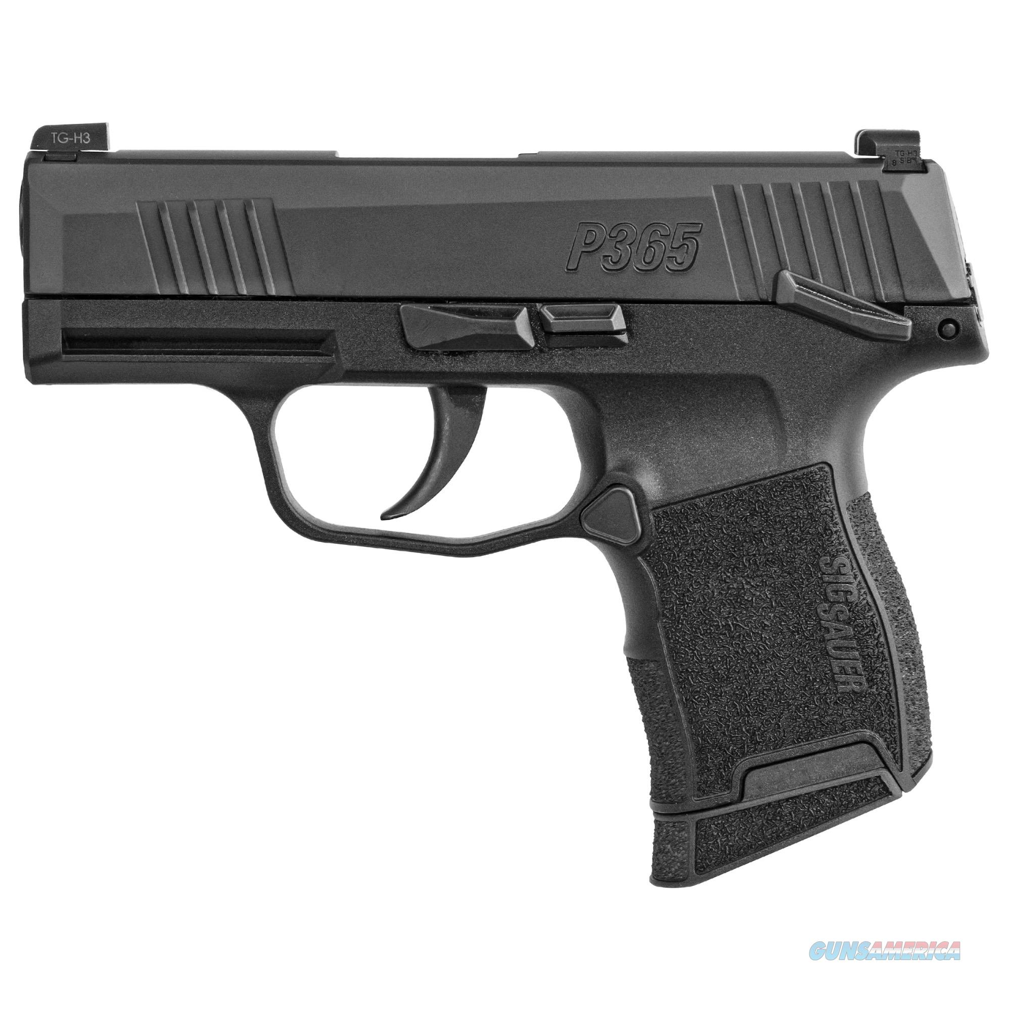 "Sig Sauer P365 9mm 3.1"" 10+1 Night Sights - New in Case!  Guns > Pistols > Sig - Sauer/Sigarms Pistols > P365"