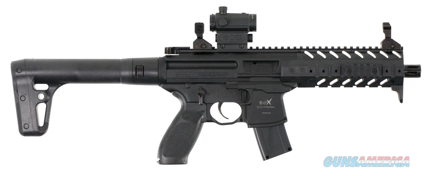 Sig Sauer MPX MRD Air Rifle Semi-Automatic .177 Pellet, Black  Non-Guns > Air Rifles - Pistols > CO2 Rifle