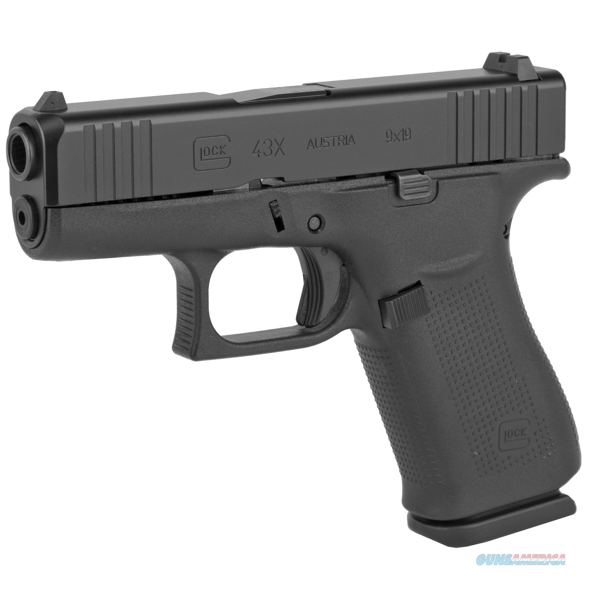 "Glock G43X 9mm 3.41"" 10+1 - New in Case!  Guns > Pistols > Glock Pistols > 43/43X"