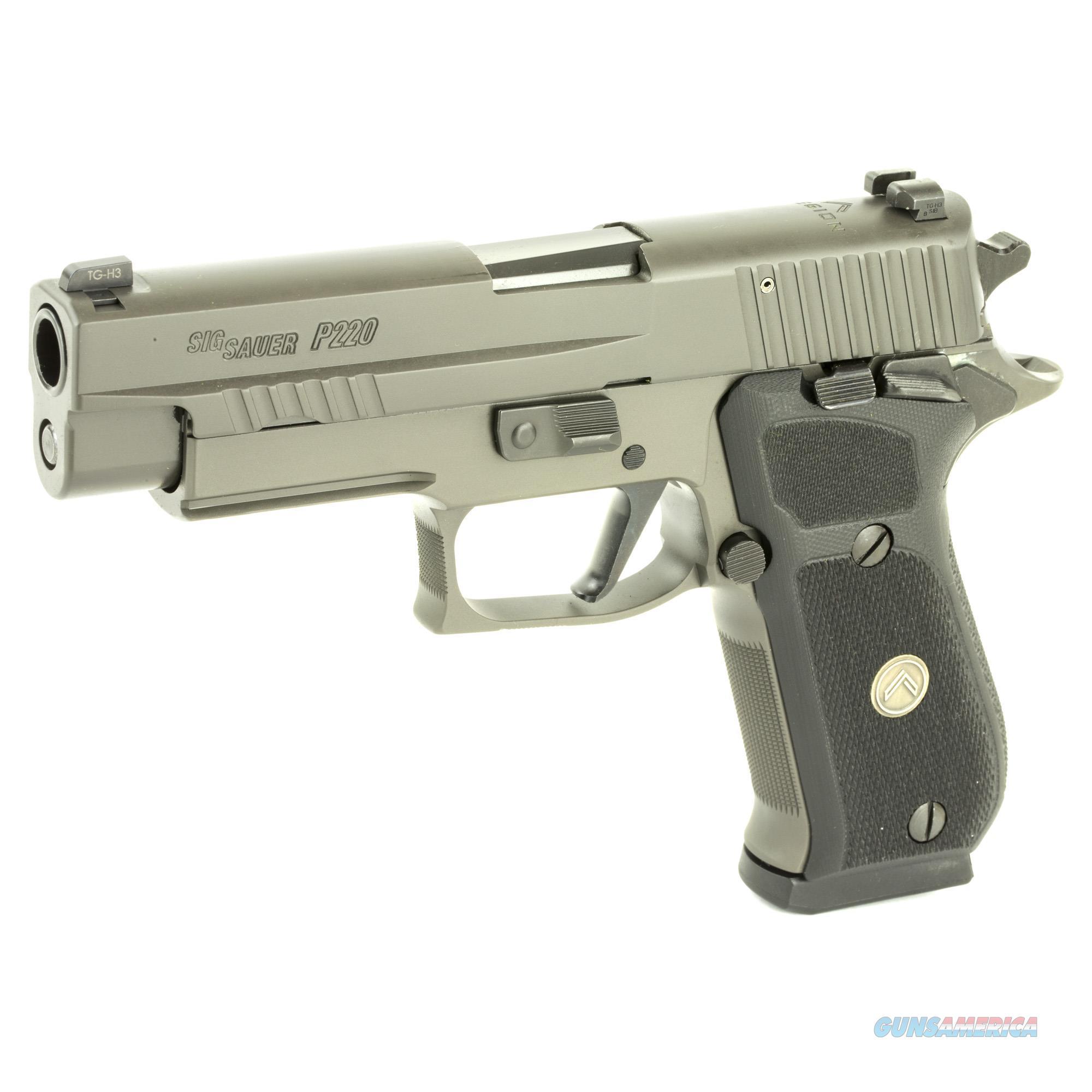 "Sig Sauer P220 Fulls Size Legion SAO .45 ACP 4.4"" 8+1 Legion Gray - New in Case  Guns > Pistols > Sig - Sauer/Sigarms Pistols > P220"