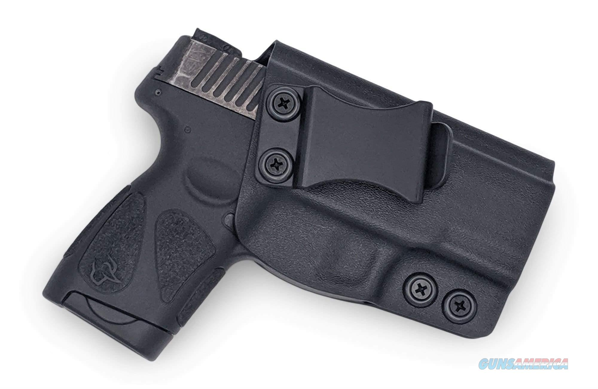 Taurus 111/140 Millennium G2 / G2C / G2S IWB KYDEX Holster, Black - Right Draw  Non-Guns > Holsters and Gunleather > Concealed Carry