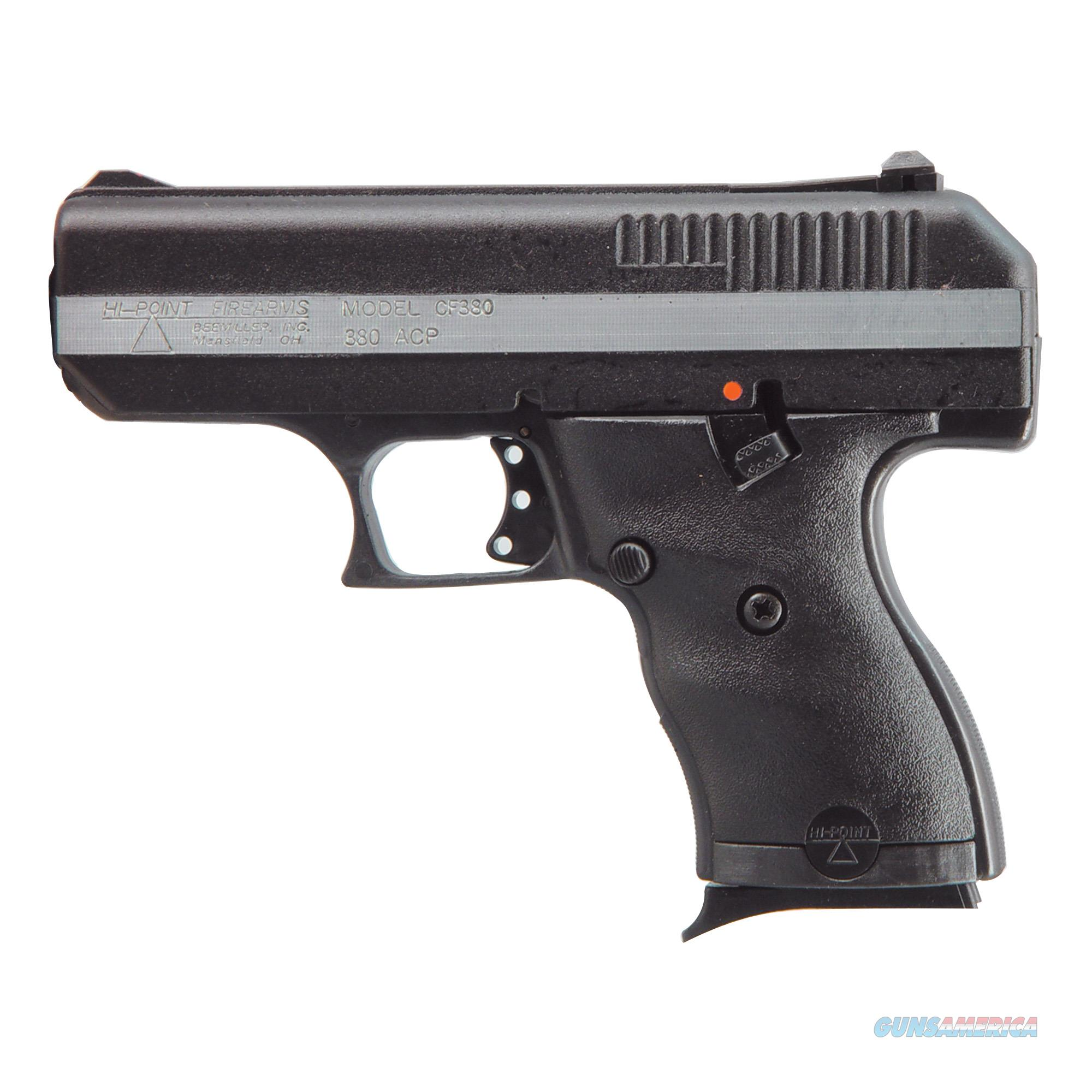 "Hi-Point CF380 .380 ACP 3.5"" 8+1 3-Dot Sights - New in Box!  Guns > Pistols > Hi Point Pistols"