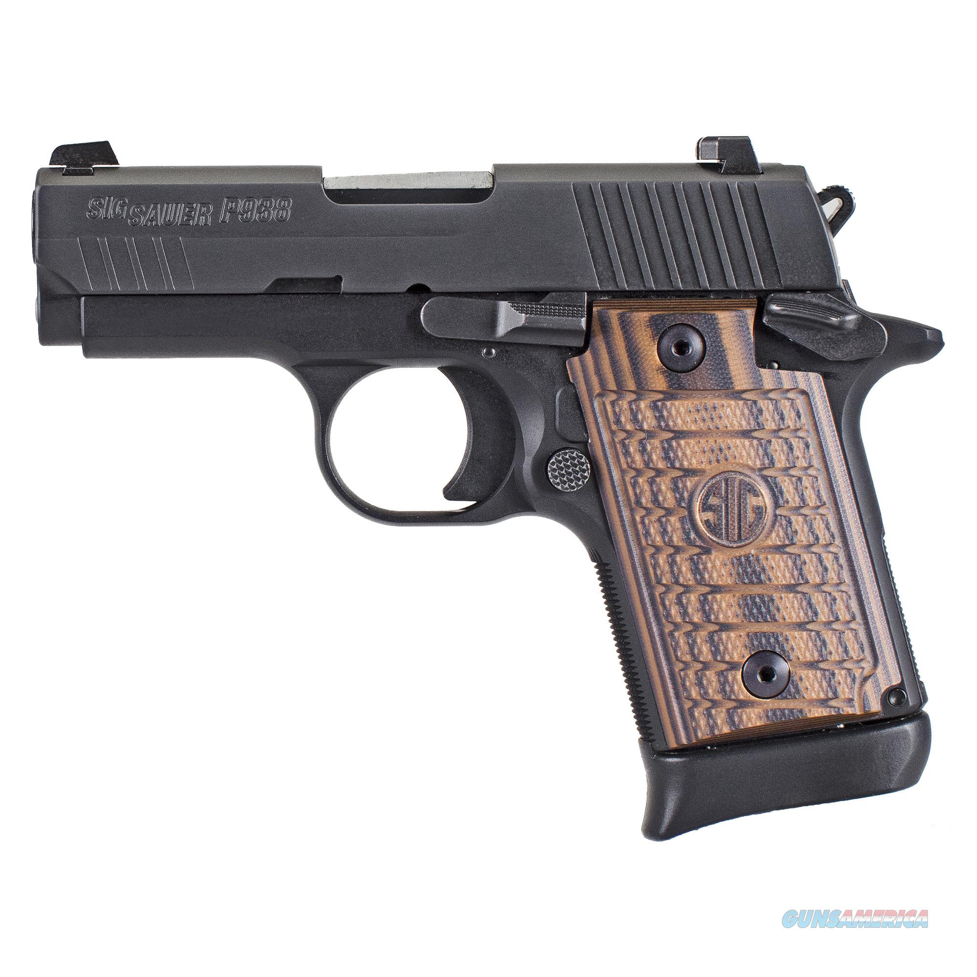 """Sig Sauer P938 Micro-Compact Select 9mm3.0"""" 7+1 - New in Case!  Guns > Pistols > Sig - Sauer/Sigarms Pistols > P938"""