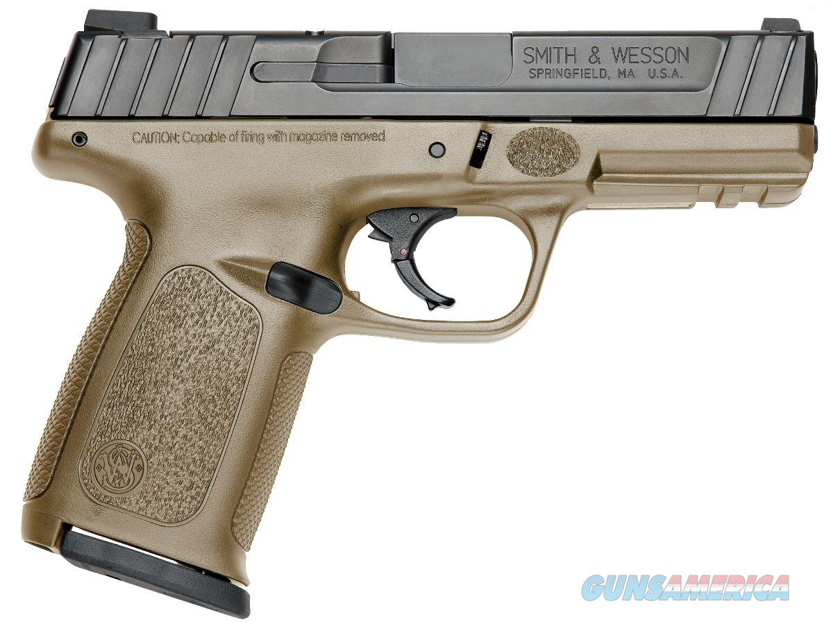 "Smith & Wesson 11998 SD9 4"" 16+1, FDE - New in Box  Guns > Pistols > Smith & Wesson Pistols - Autos > Polymer Frame"