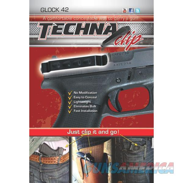 Techna Clip G42BRL Gun Belt Clip – Glock 42, Ambidextrous   Non-Guns > Holsters and Gunleather > Concealed Carry