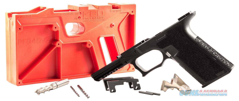 Polymer80 P940v2 G17/22 Gen3 Compatible 80 Percent Frame Kit Polymer, Black  Non-Guns > Gun Parts > Grips > Other