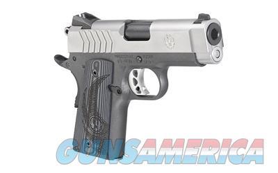 "Ruger SR1911 Lightweight Officer 9mm 3.6"" 8+1 Black G10 Grip Stainless Steel - New in Box  Guns > Pistols > Ruger Semi-Auto Pistols > SR Family > SR9"