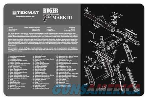 TEKMAT Armorers Bench Mat – Ruger® Mark III™  Non-Guns > Gunsmith Tools/Supplies