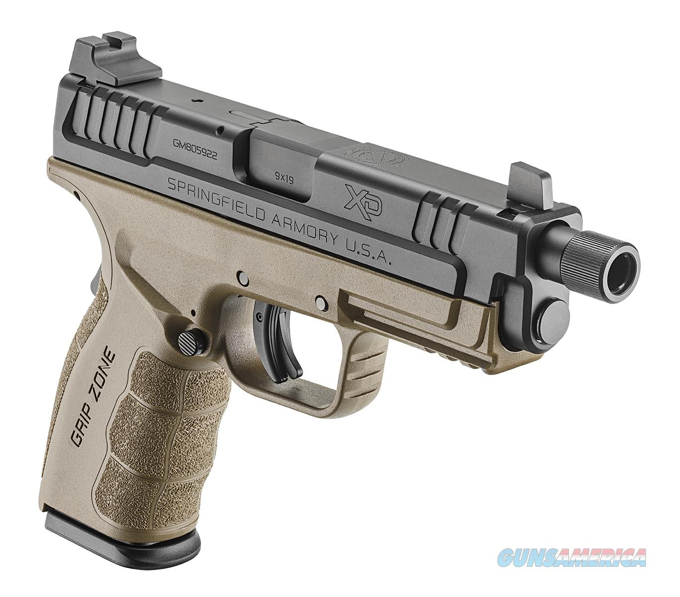 "Springfield XD Mod.2 9mm 4.8"" Threaded 16+1, FDE - New in Case  Guns > Pistols > Springfield Armory Pistols > XD (eXtreme Duty)"