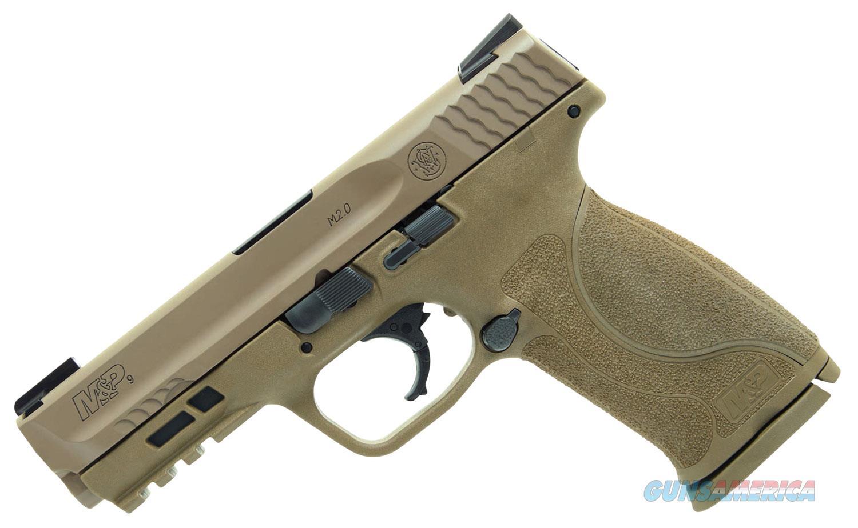 "Smith & Wesson M&P Shield M2.0 9mm 4.25"" 15+1 Flat Dark Earth  Guns > Pistols > Smith & Wesson Pistols - Autos > Polymer Frame"