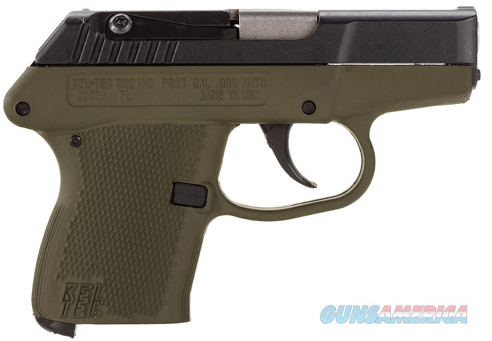 "Kel-Tec P-3AT .380 ACP 2.75"" 6+1 Black/Green - New in Box  Guns > Pistols > Kel-Tec Pistols > Pocket Pistol Type"
