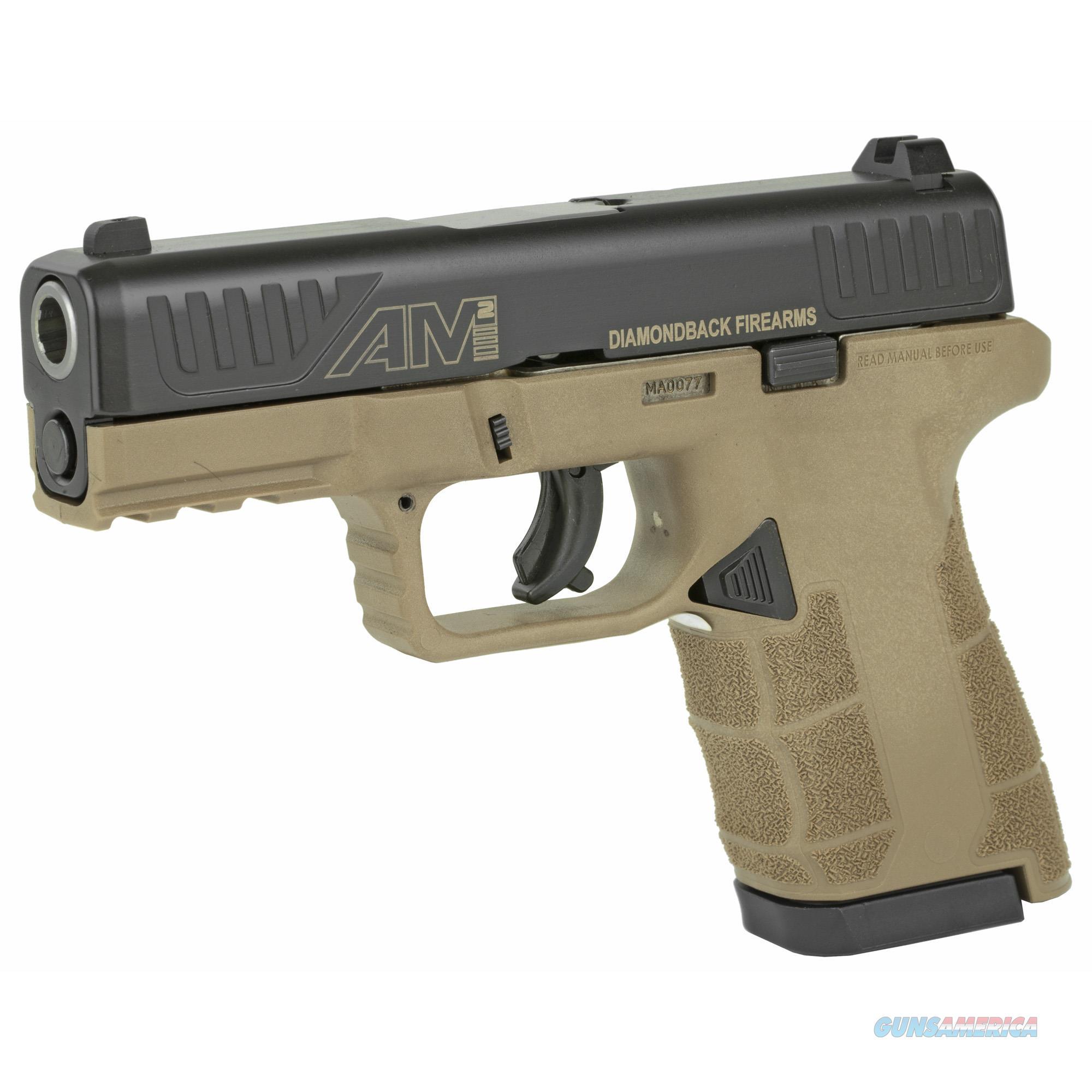 """Diamondback DBAM29 9mm 3.5"""" 17+1/12+1 Flat Dark Earth - New in Box!  Guns > Pistols > Diamondback Pistols"""
