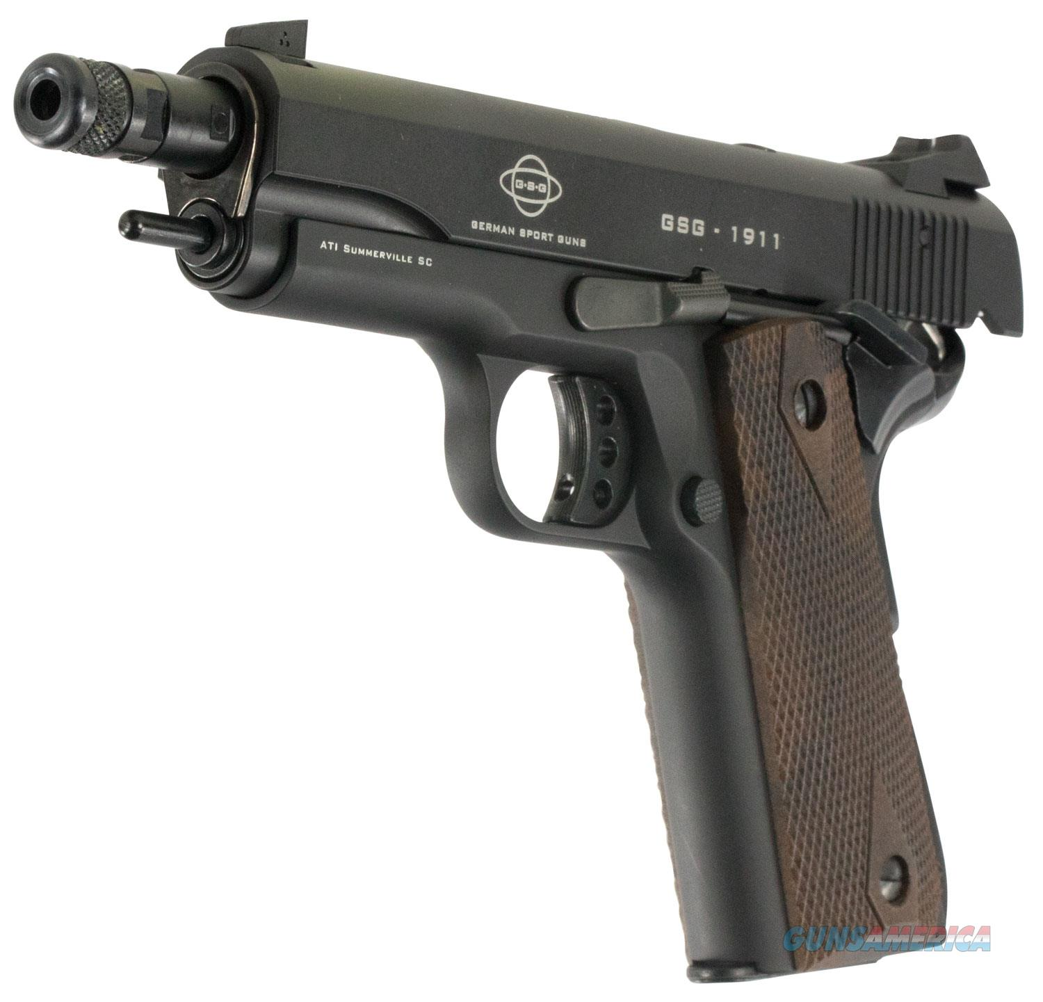 "ATI/GSG 1911 .22 LR 5"" 10+1 Walnut Grip - New in Box!  Guns > Pistols > American Tactical Imports Pistols"